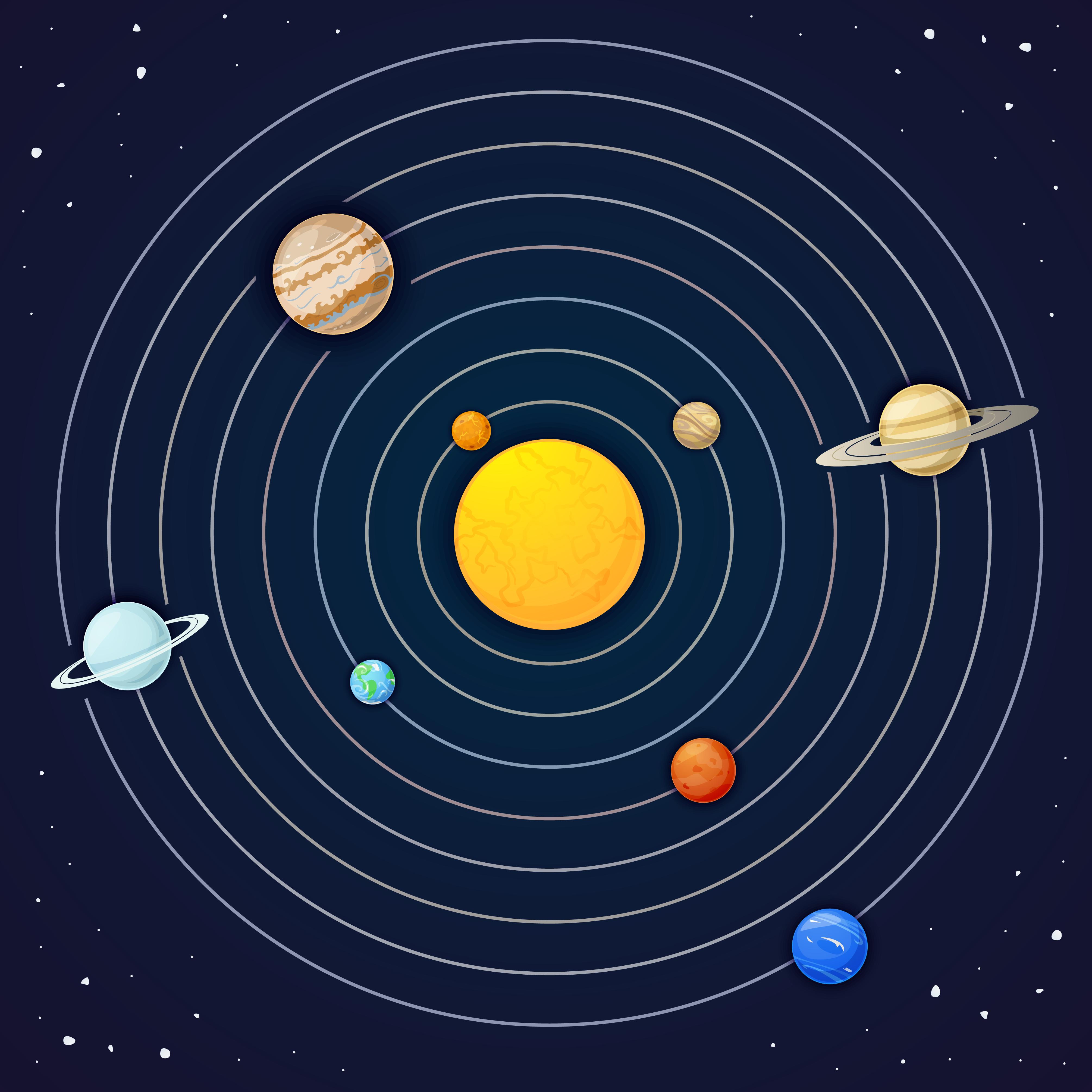 Земля и вся Солнечная система