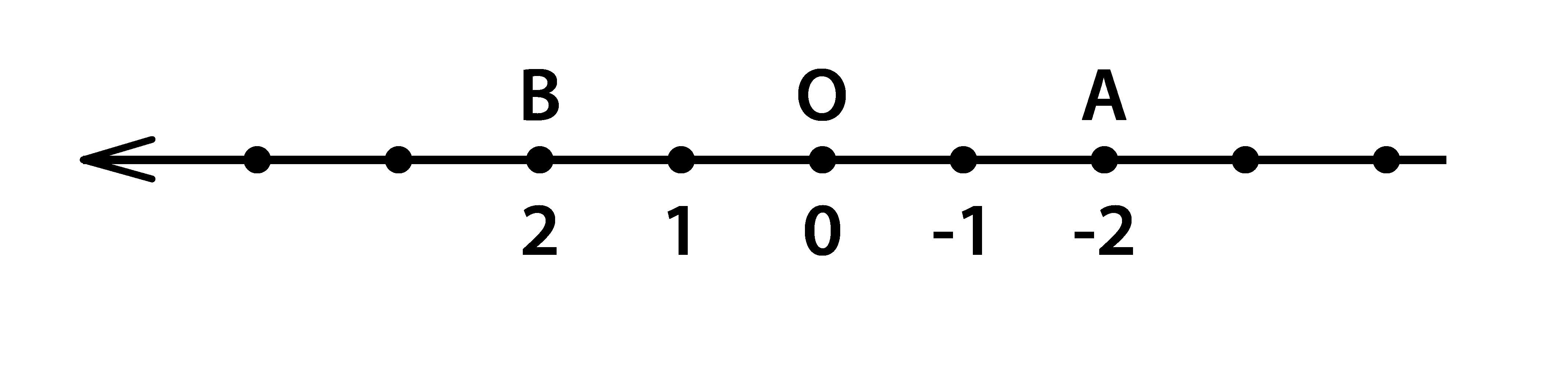 координата отрицательной точки