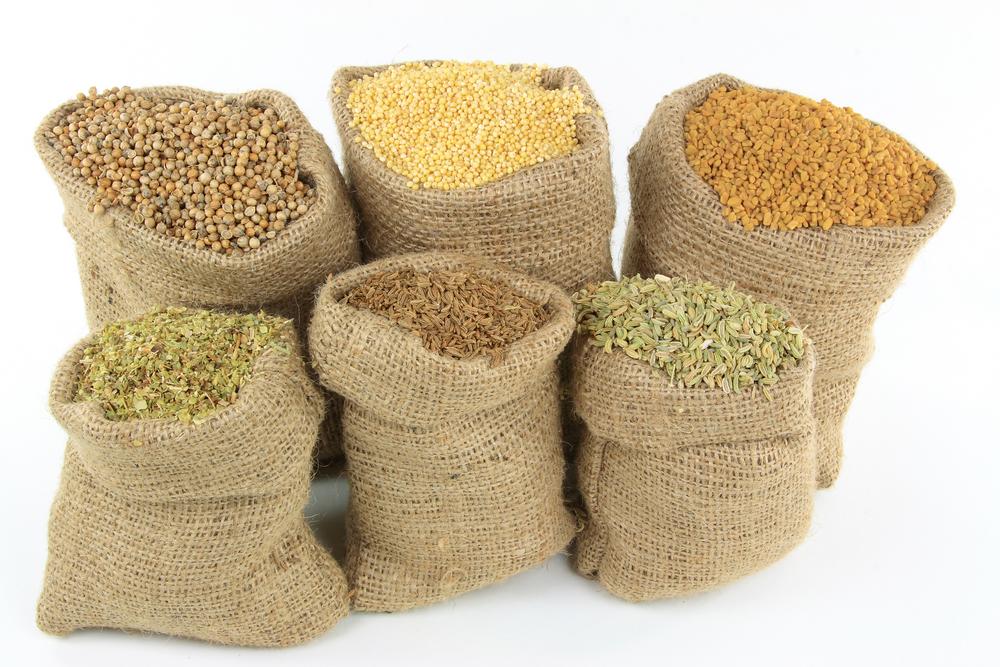 6 мешков зерна