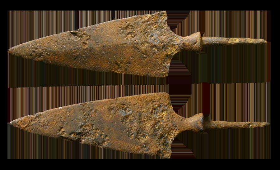 Самые древние изделия из железа относят к IV веку до н. э.