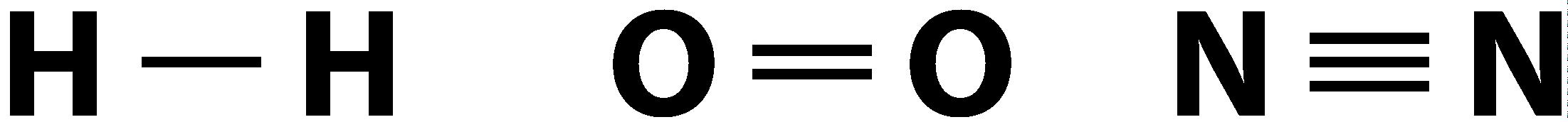 Общие электронные пары