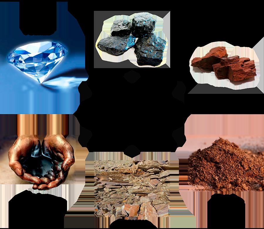 углерод является основной составляющей частью горючих полезных ископаемых
