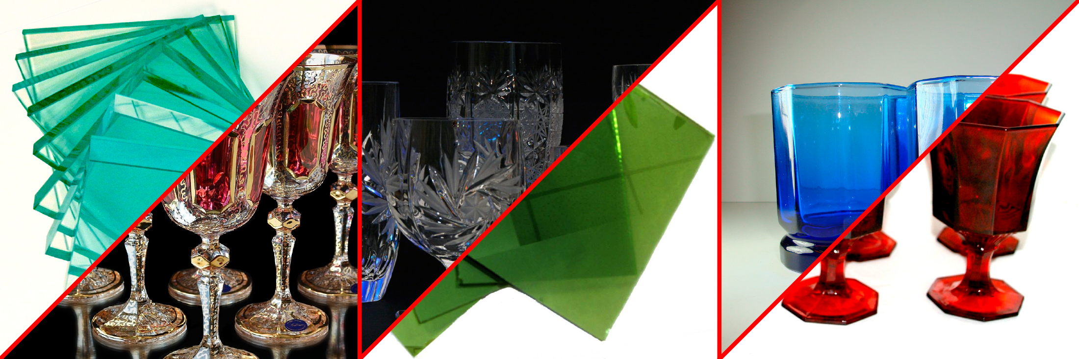 Свойства стекла можно изменять, добавляя в него оксиды других металлов