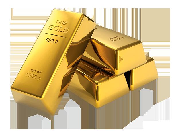 Пластичные металлы - золото, серебро и медь.