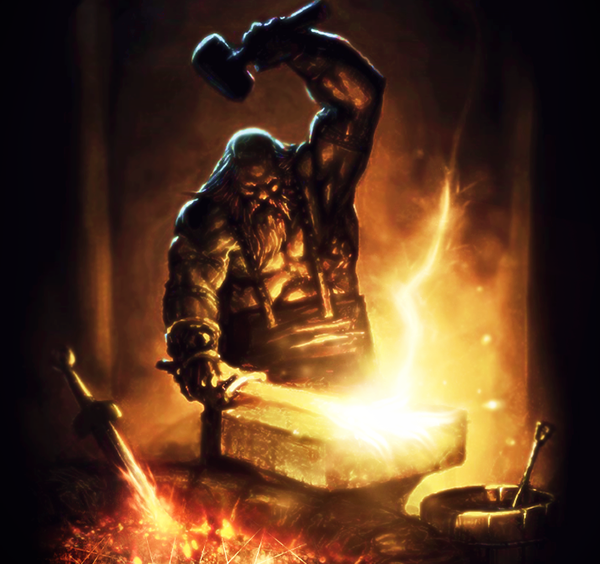 железо укреплялось посредством обжига в навозе и лоскутах кожи