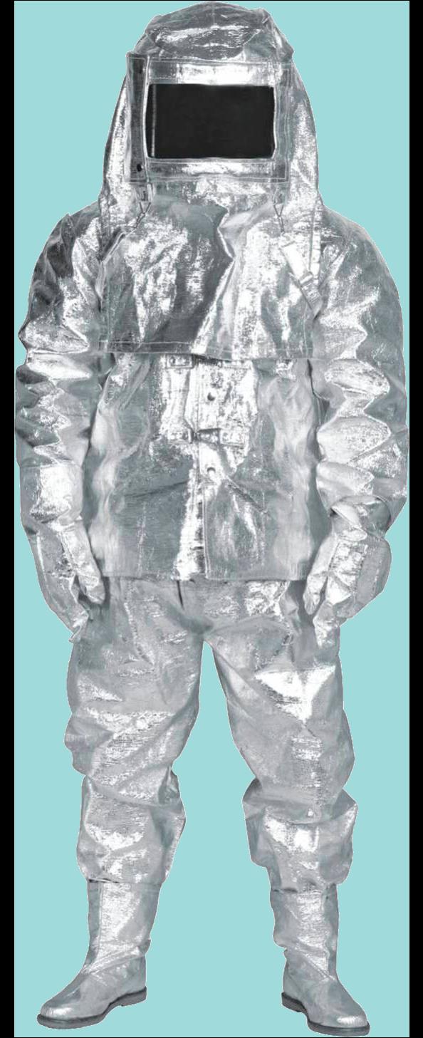 космические скафандры и костюмы экипажей покрывают именно алюминием