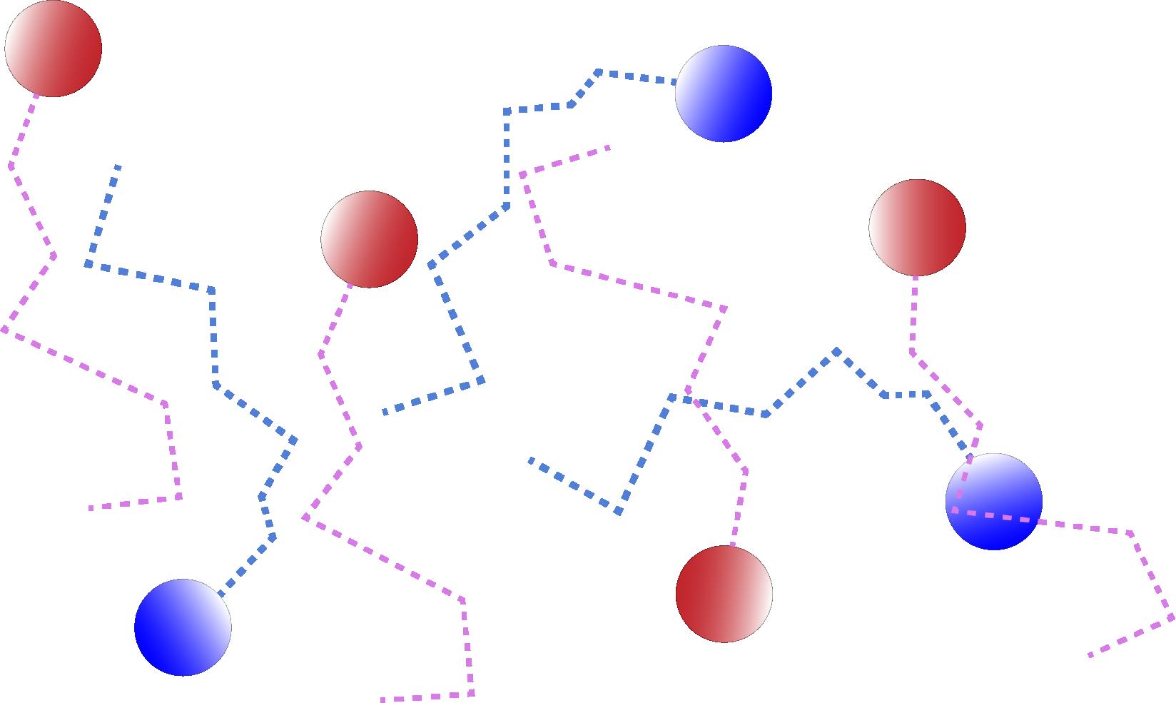 молекулы находятся в непрерывном хаотичном движении