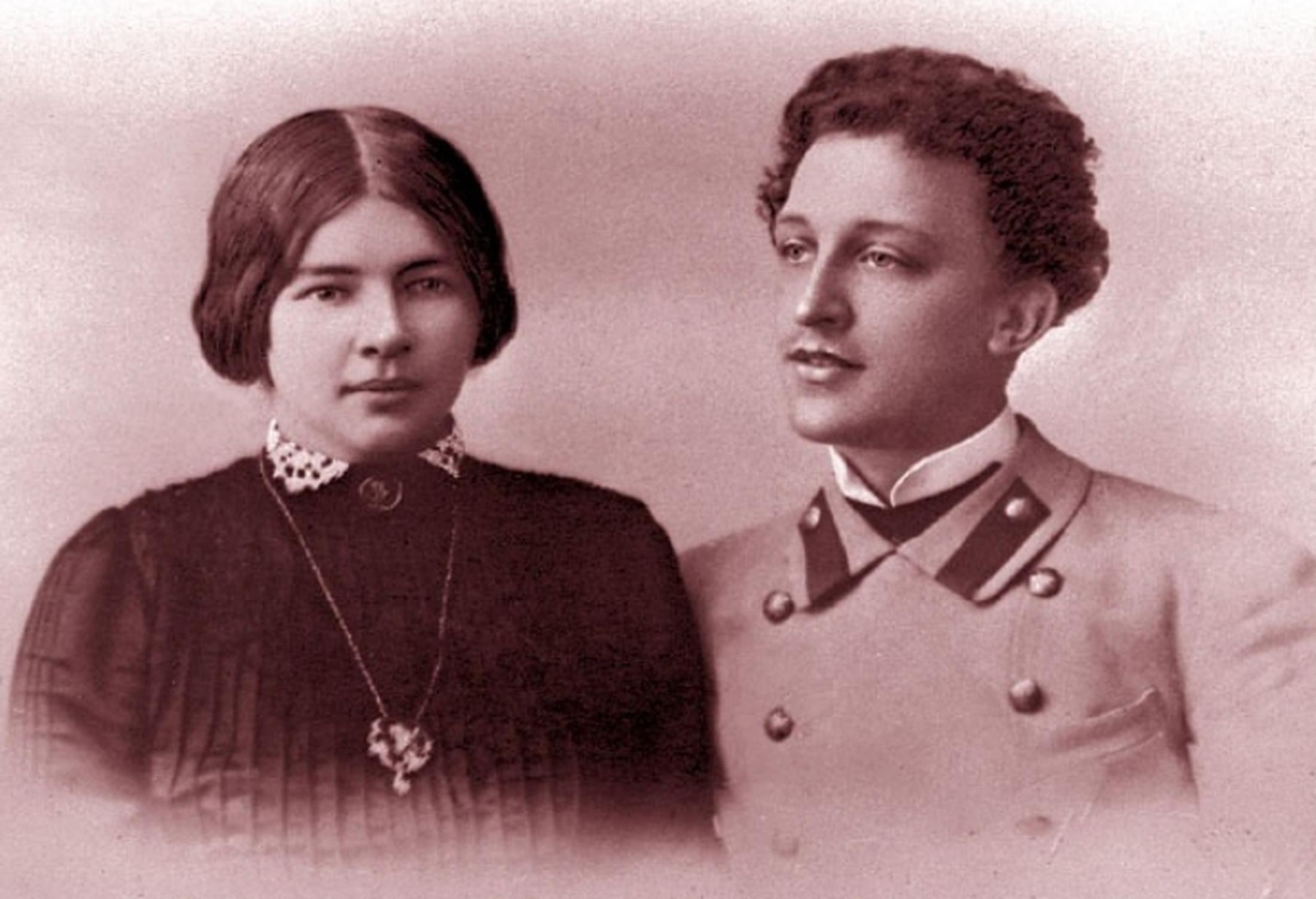 Дмитрий Менделеев был женат на Любови Дмитриевне Менделеевой